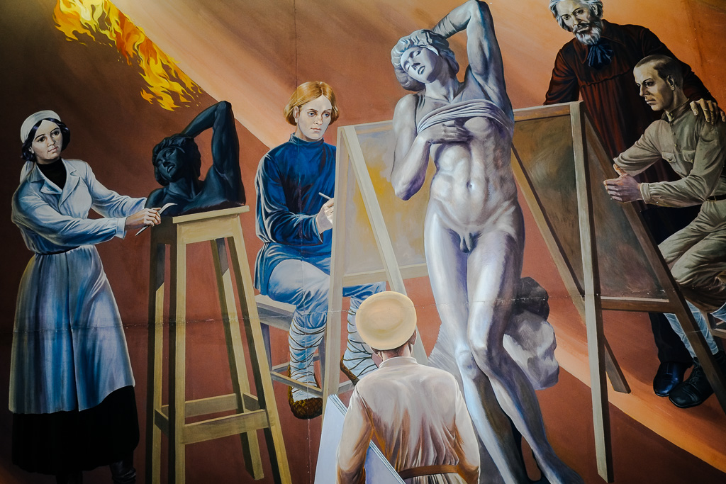 communist kyrgyzstan lenin museum bishkek