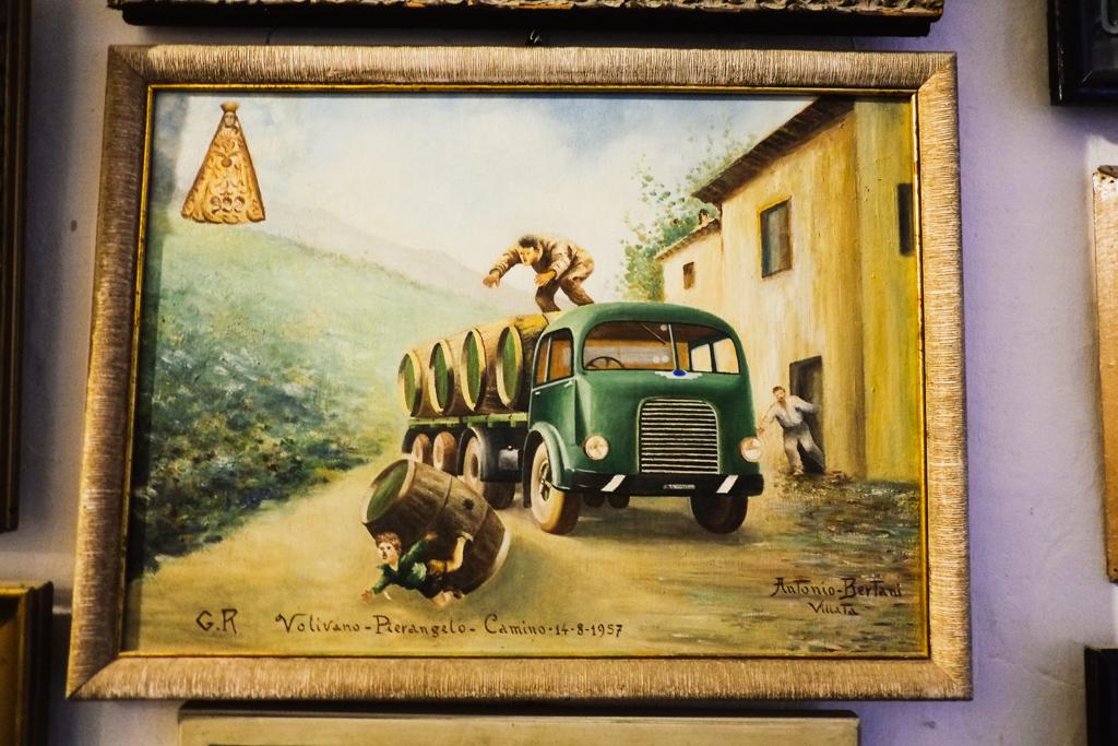 death by wine barrel crea sacra italy