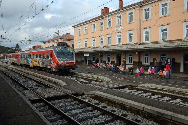 graffiti train Slovenia