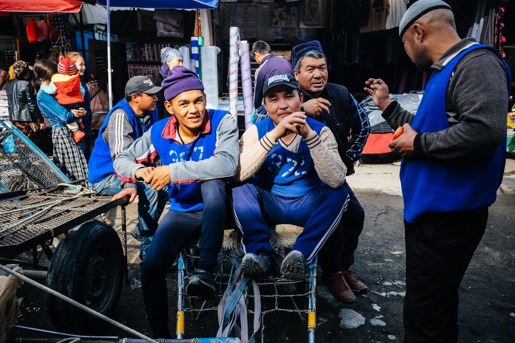 dordoy bazaar street photography bishkek