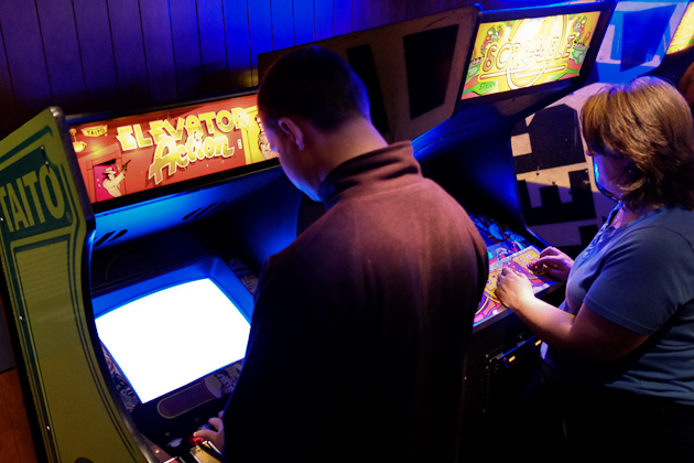 elevator action arcade game