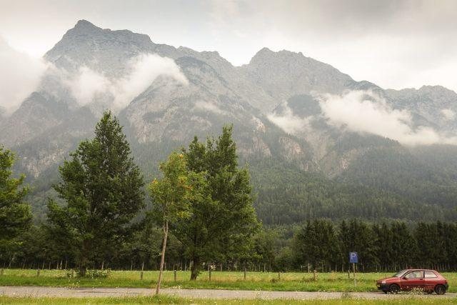 European road trip - the car, the mountains, Austria