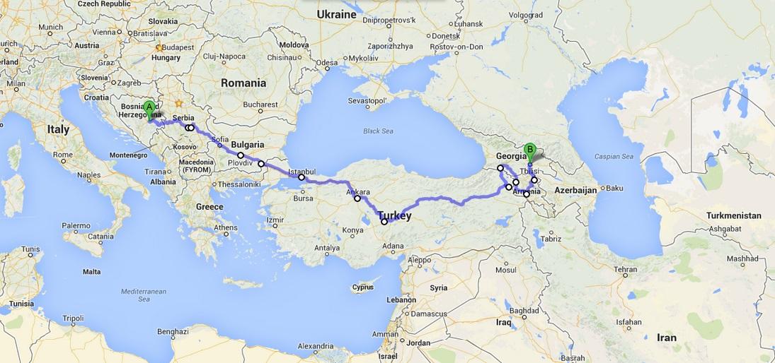 European road trip #yogypsy