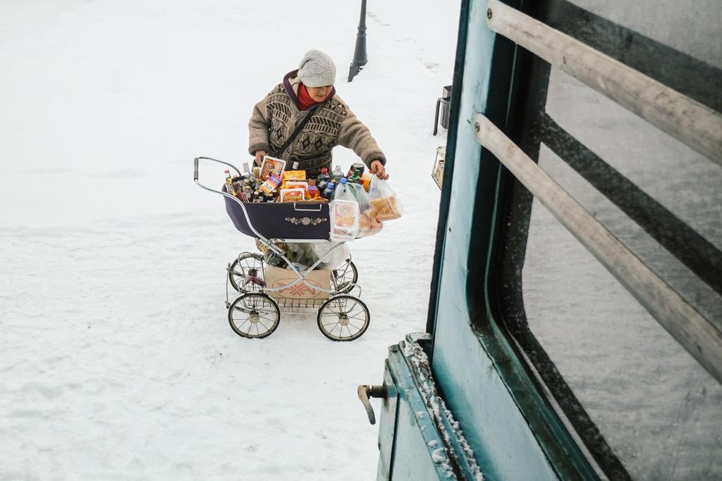 food vendor almaty train to tashkent