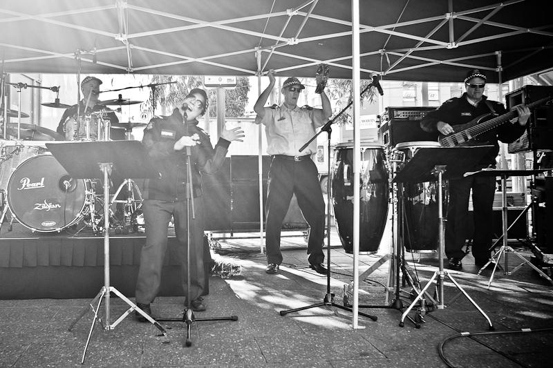 footscray police band