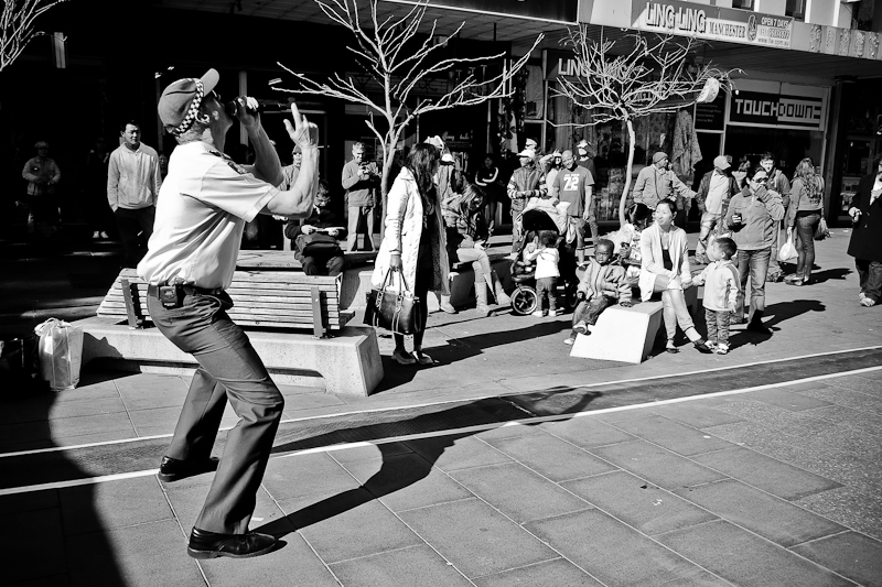 footscray police - street photography Melbourne