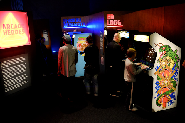 game masters video games arcade