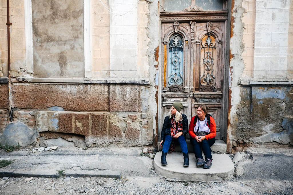 Irresistible to tourists, for now. Old Tbilisi.