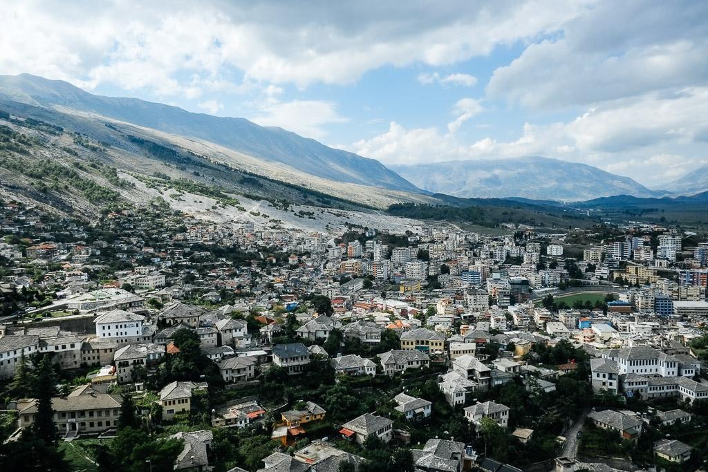 gjirokastra gjirokaster citadel view