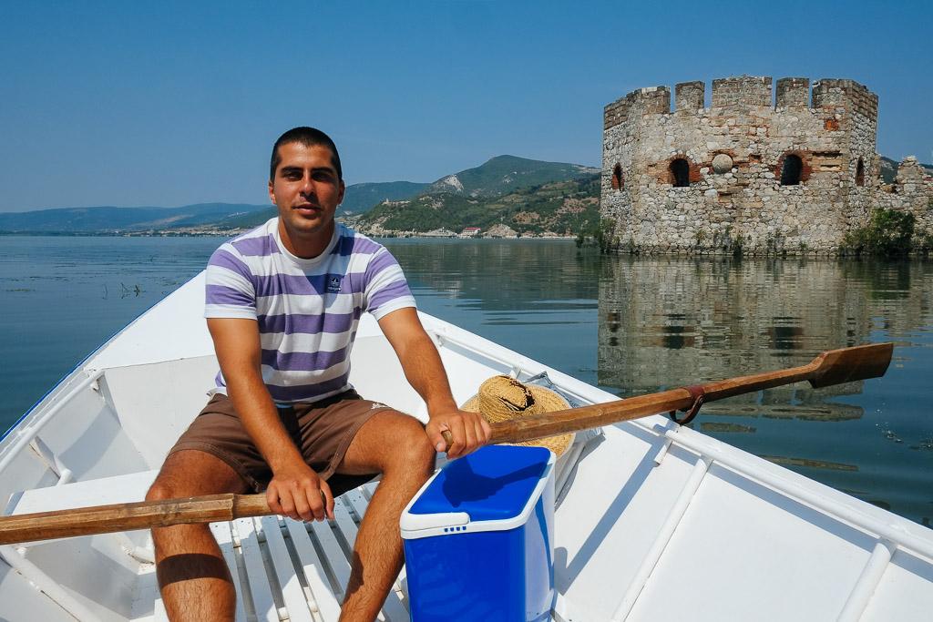 Golubac boat trip serbia