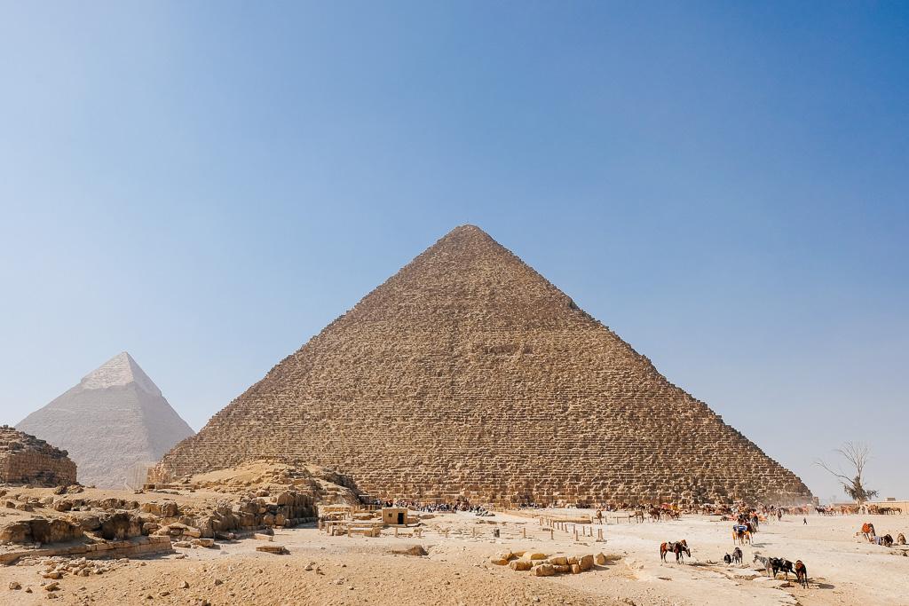 great pyramid camel