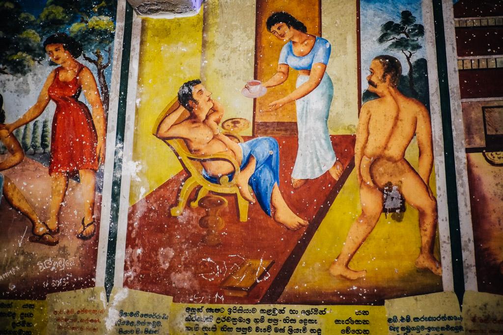 Wewurukannala Vihara Temple, Dikwella, Sri Lanka.