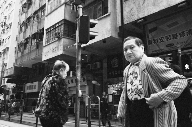 this example of hong kong street photography was taken in 2012
