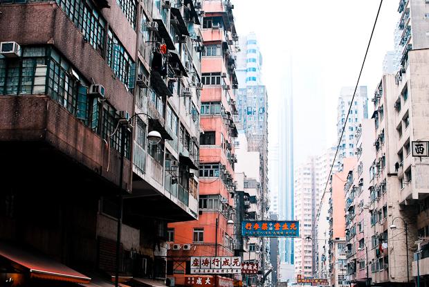 Mean streets of Hong Kong