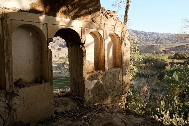 The ancient village of Kharanaq Iran