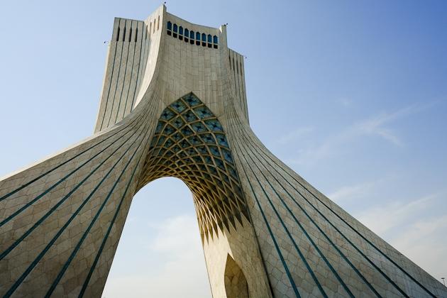 Azadi Tower Tehran Iran
