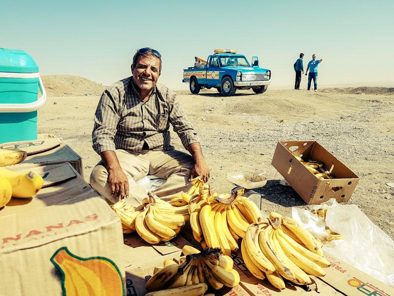 iran banana man