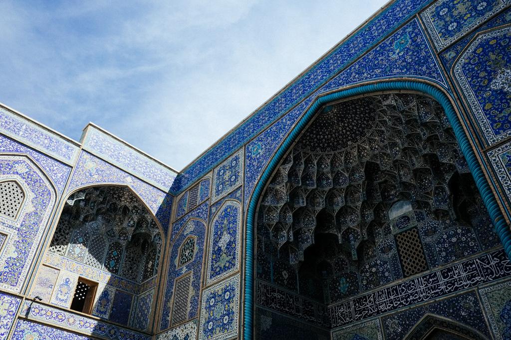 iran esfahan mosque