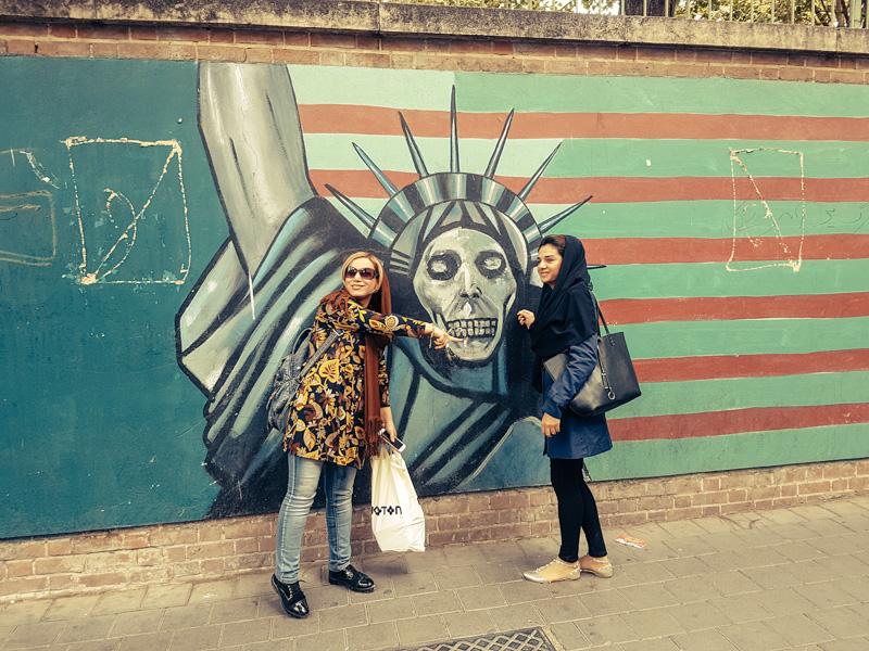 iran mural tour