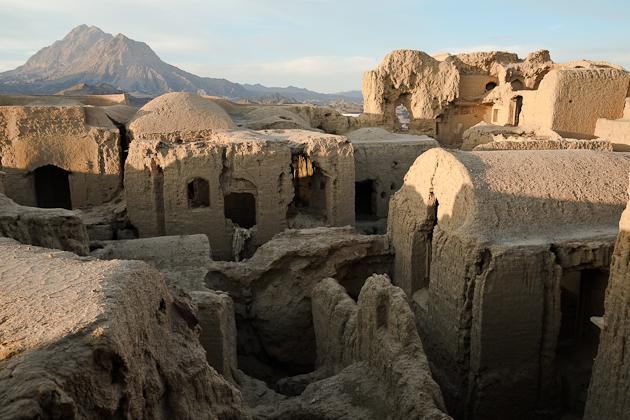 Abandoned village Iran - Kharanagh