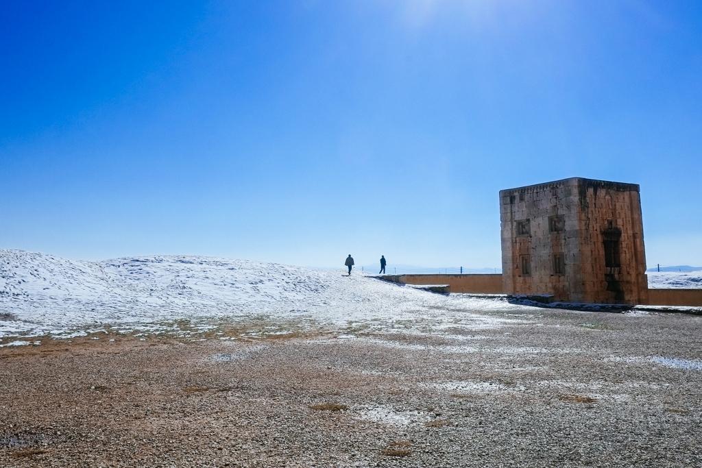 iran snow shiraz