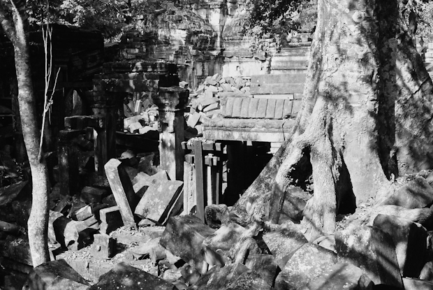 The jungle temple of Beng Melea