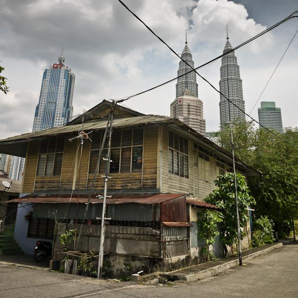 Kampung Baru house, Kuala Lumpur, Malaysia
