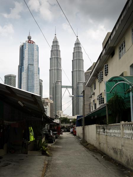 Petronas Towers, from Kampung Baru