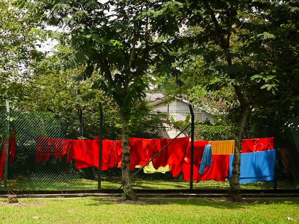 Washing line, Kampung Baru Kuala Lumpur