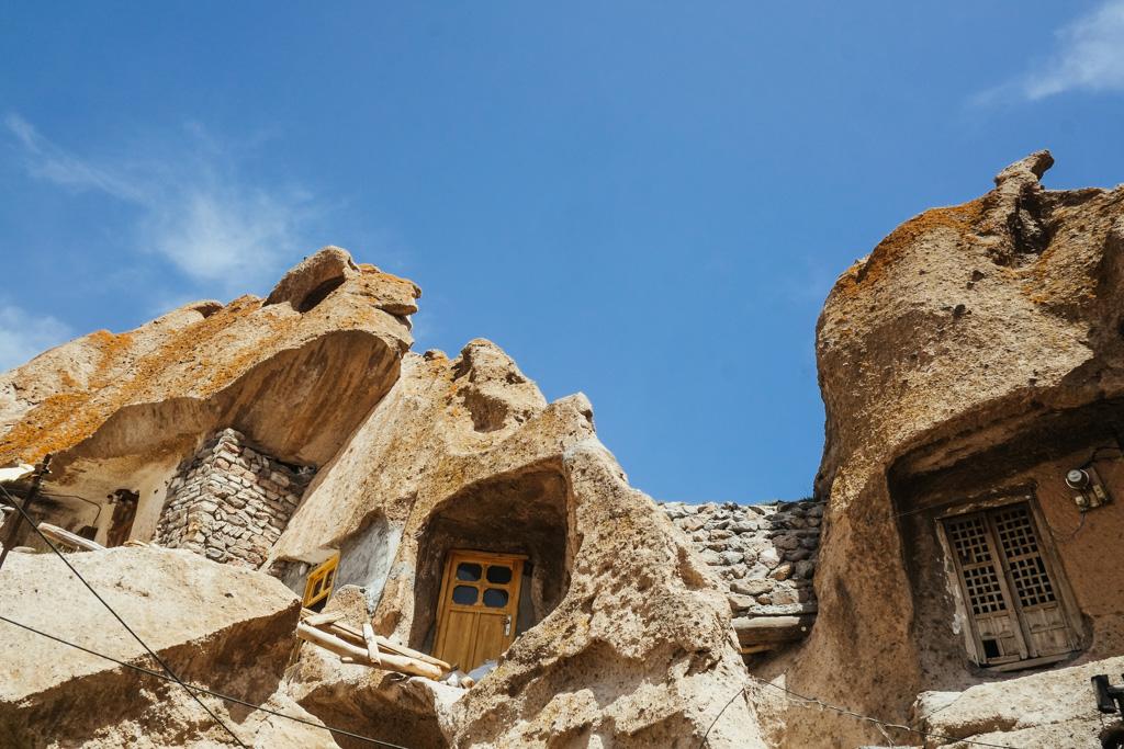 kandovan cave houses iran