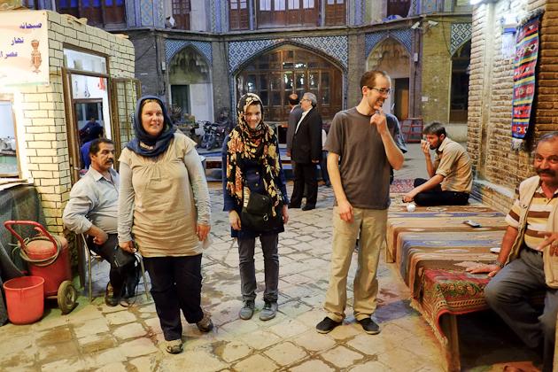 kashan bazaar chai house