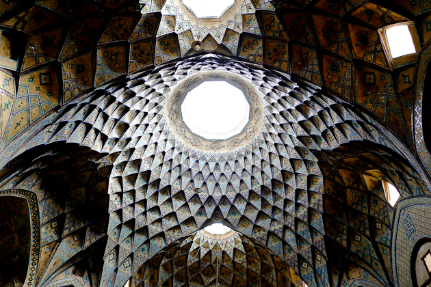 kashan bazaar ceiling - ridiculous beauty