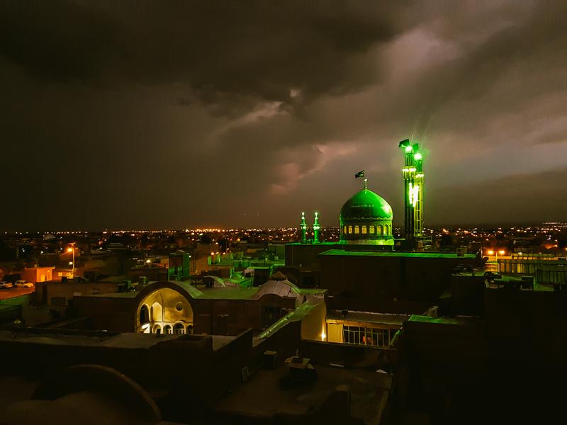 kashan night iran