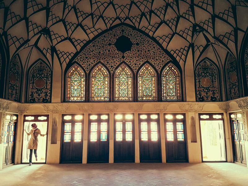 kashan tour houses