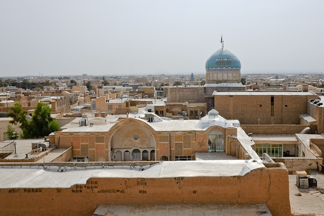 Kashan, Iran - view from above