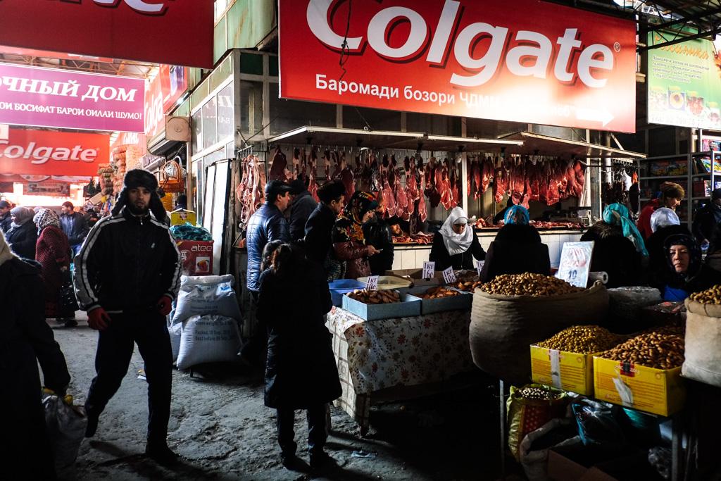 Afghan Bazaar, Khujand.