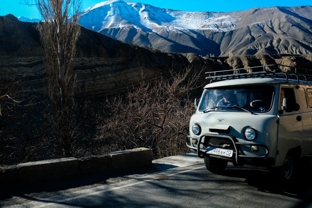 khujand bus tajikistan dushanbe