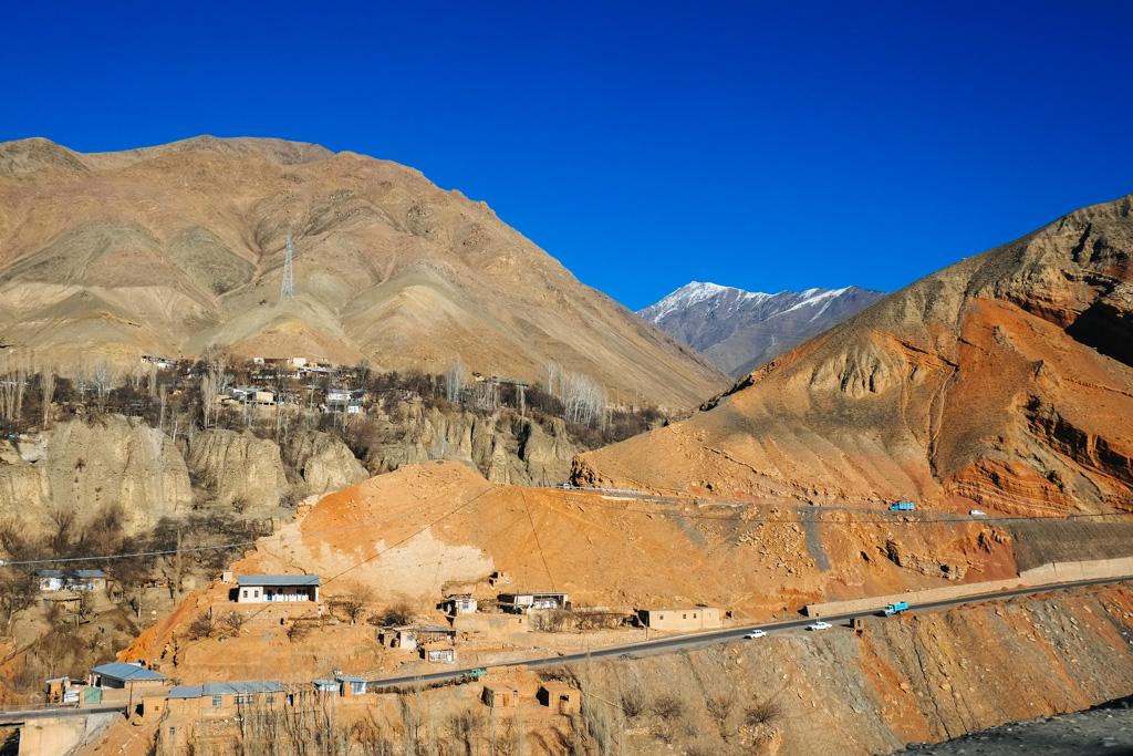 khujand dushanbe road