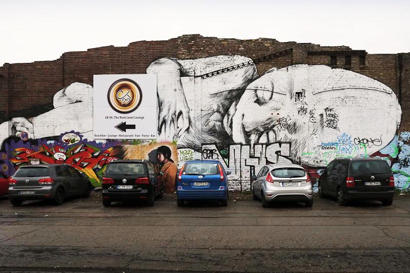 large format street art Berlin