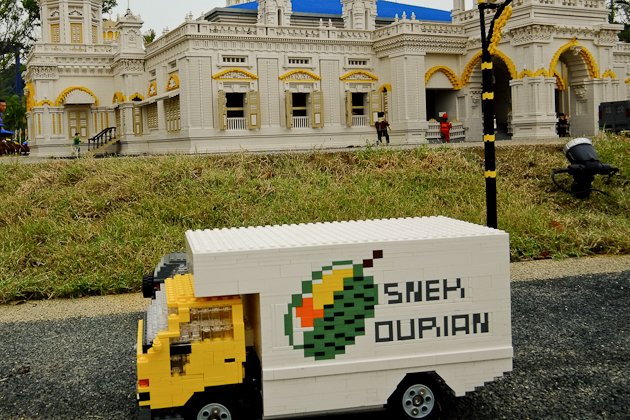 lego truck - Legoland Malaysia