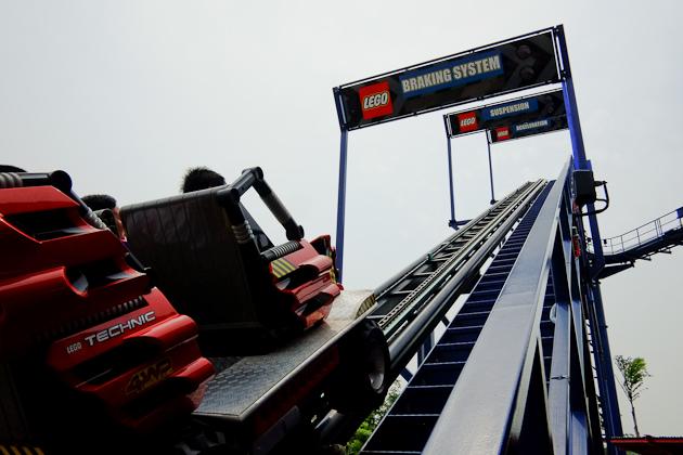 legoland malaysia rollercoaster