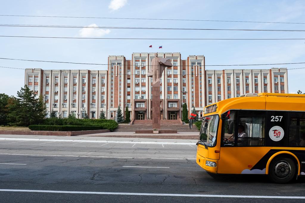 lenin statue transnistria