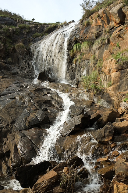 Waterfall Lesmurdie Falls Winter