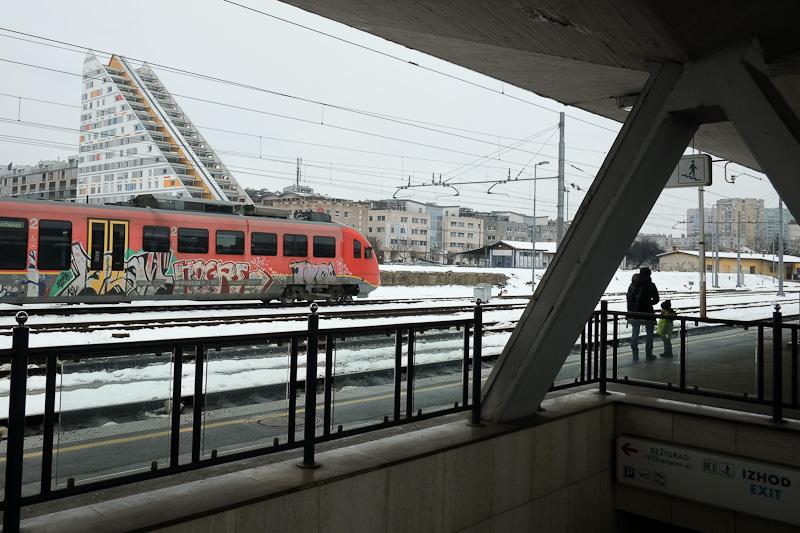 Graffiti train - Ljubljana Slovenia