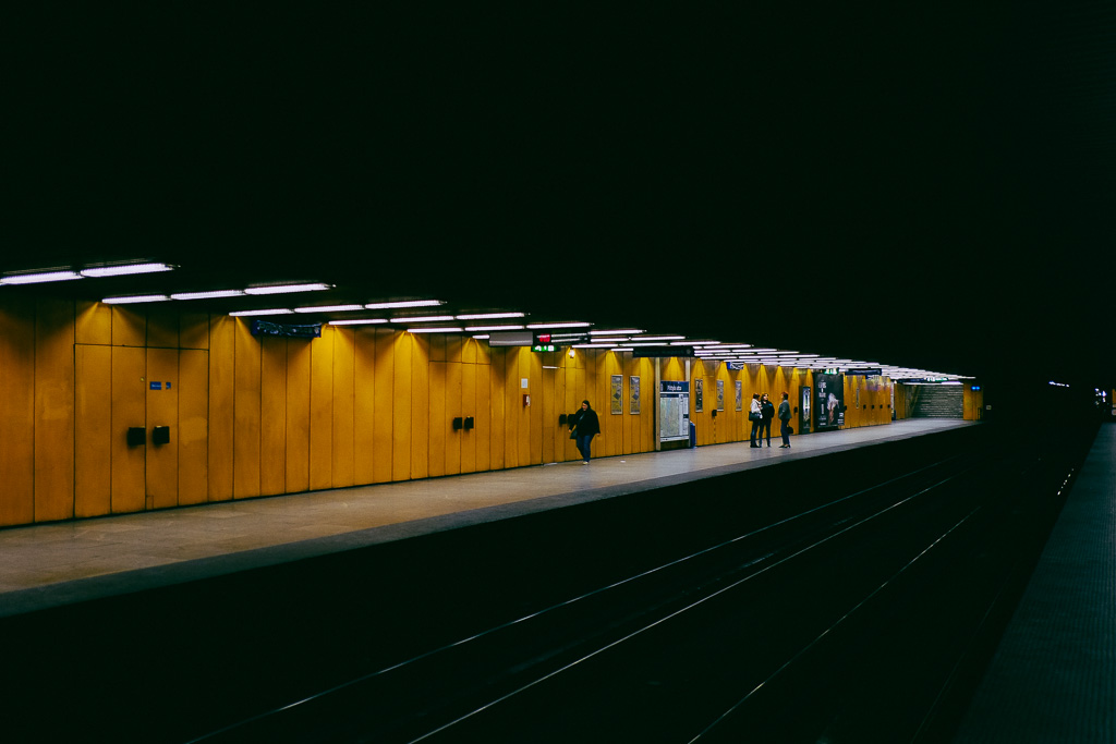 M3 Metro Line, Budapest.
