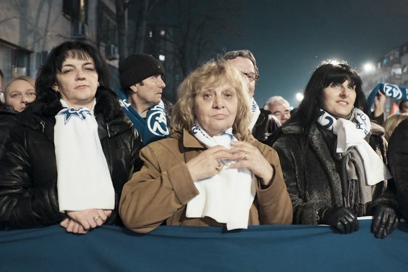 Political ladies, Skopje, Macedonia