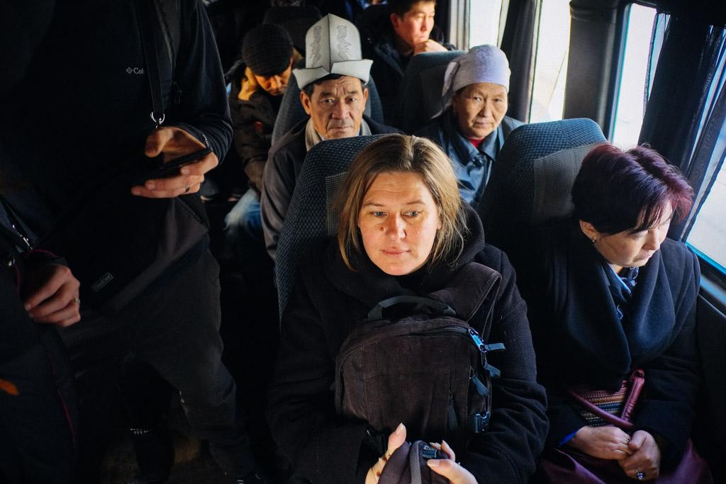 marshrutka bishkek