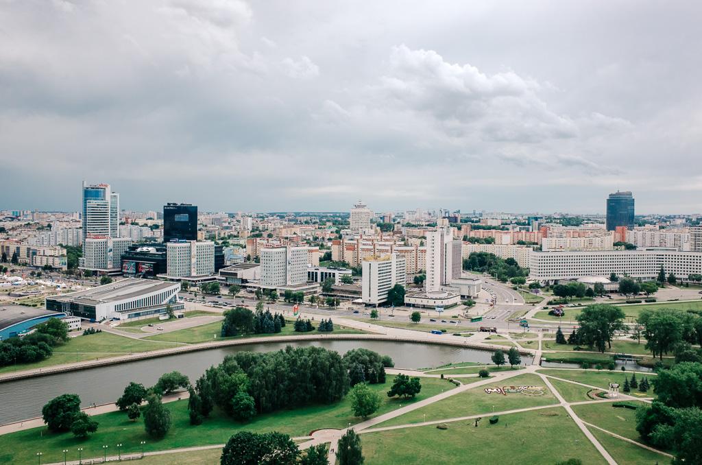 minsk city view