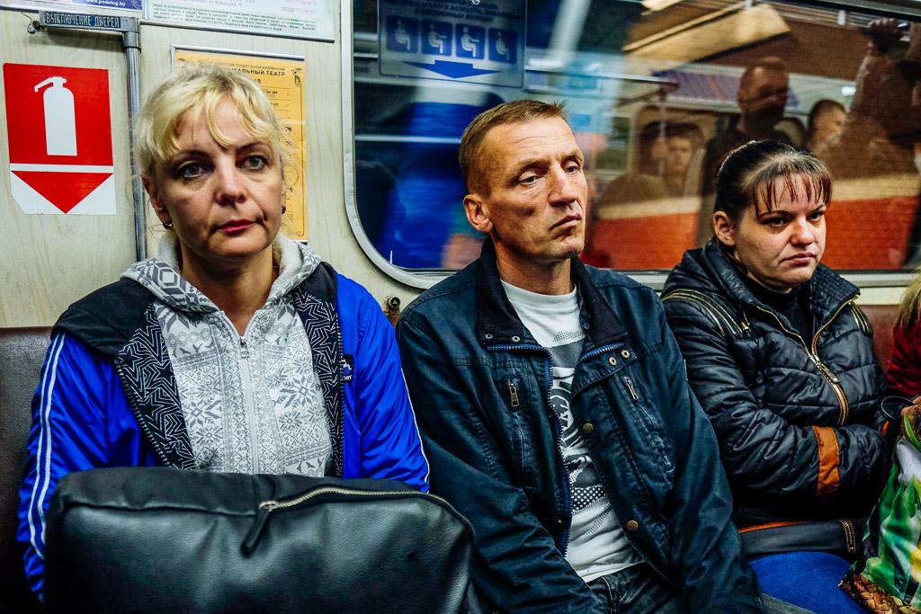 minsk metro interior