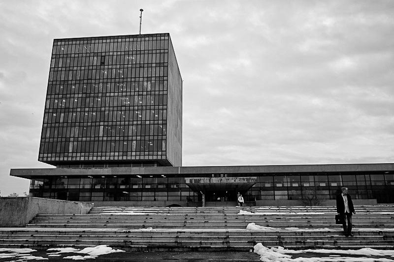 Zageb modernist architecture from the Communist era